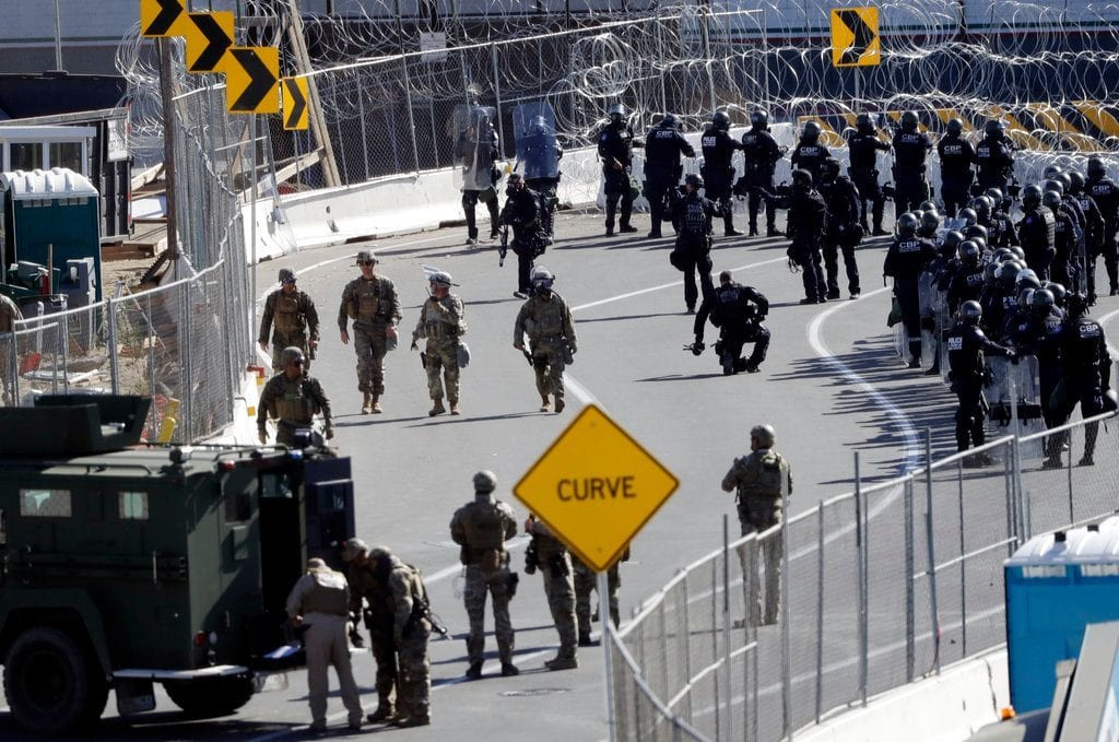 Trump poised to extend troops' deployment at US-Mexico border into January: report