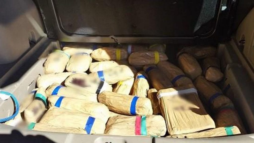 Two Arizona men, Mexican woman caught trafficking $4.3M in hard drugs across border, cops say
