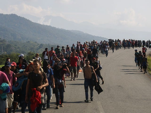 Central American-Caribbean Caravan of 2500 Heads to U.S. Border