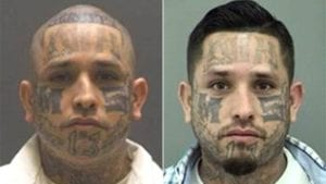 New face on Texas most-wanted list: MS-13 member with MS-13 tattooed on his face