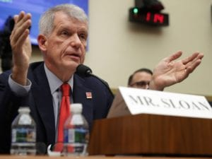 Wells Fargo CEO Grilled for Outsourcing American Jobs to India